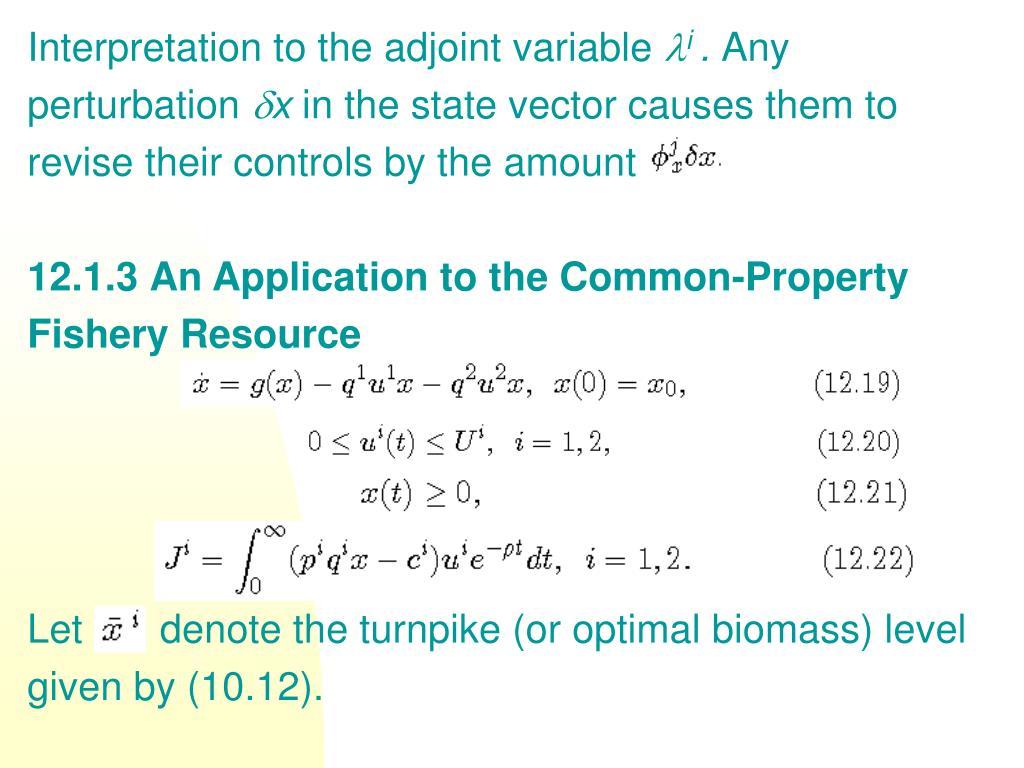 Interpretation to the adjoint variable
