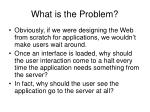 what is the problem12