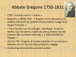 abbate gr goire 1750 1831