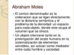 abraham moles24