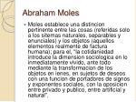 abraham moles26