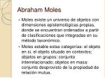 abraham moles27