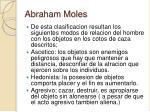 abraham moles30
