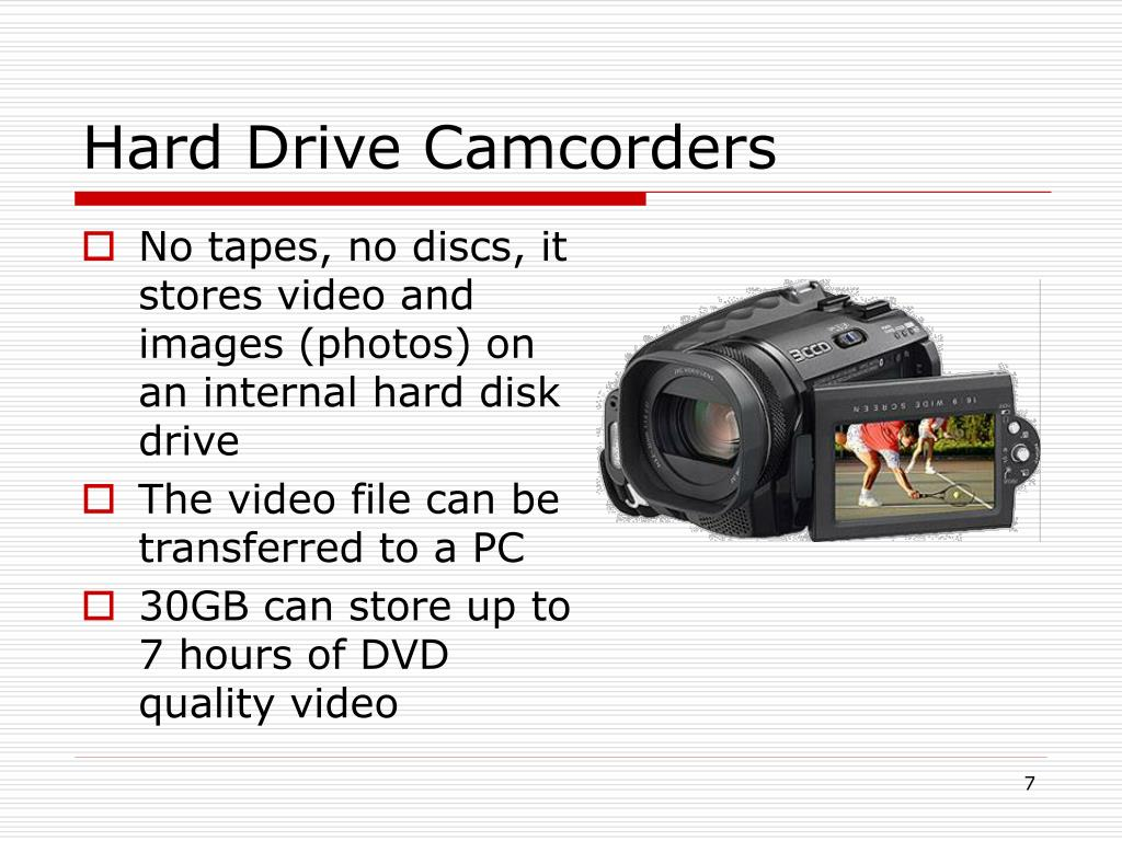 Hard Drive Camcorders