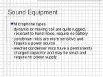 sound equipment6