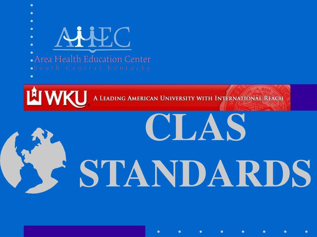 clas standards l.