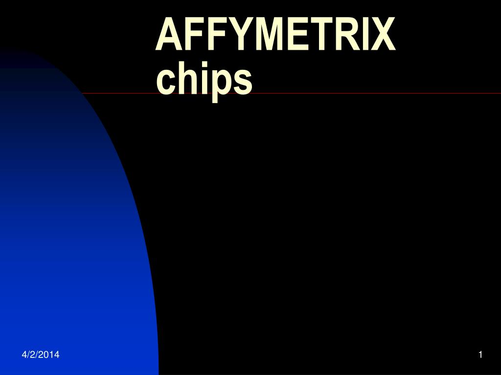 affymetrix chips l.