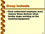 group lockouts23
