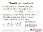 photodiodes avalanche49