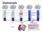 dispersal code16