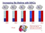 increasing file lifetime with macs