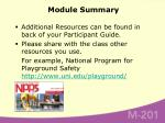 module summary61
