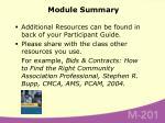 module summary85