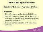 rfp bid specifications71