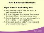 rfp bid specifications72