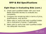 rfp bid specifications73