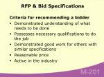 rfp bid specifications75