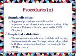 procedures 2