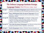 the defense language institute foreign language center macwhinney 1995 294