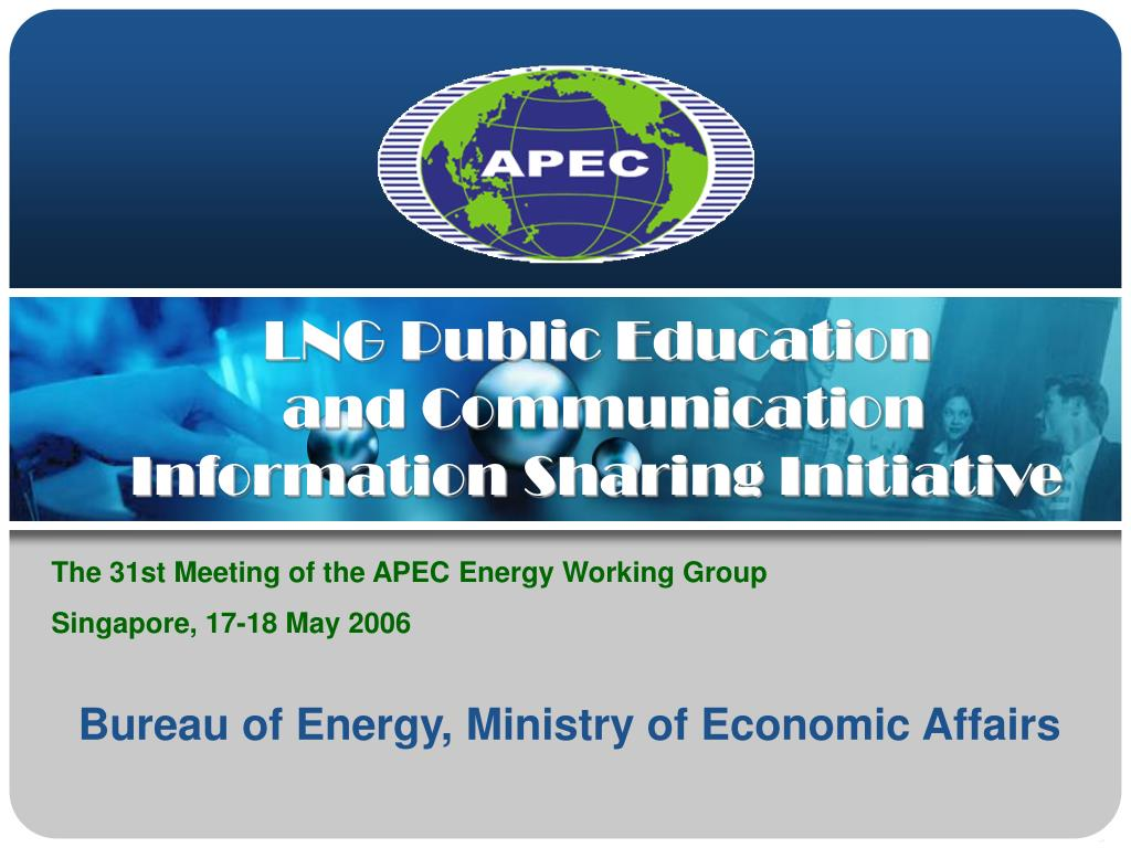 lng public education and communication information sharing initiative l.