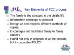 key elements of fcc process