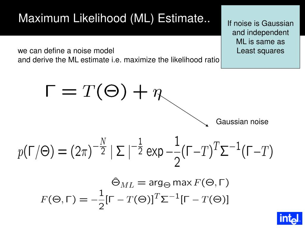 If noise is Gaussian