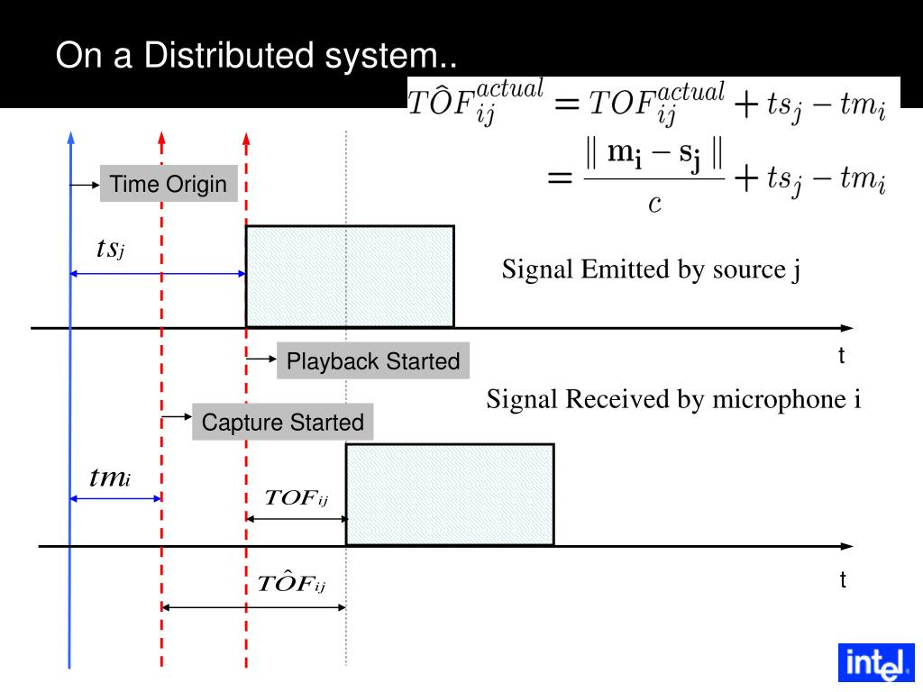 On a Distributed system..