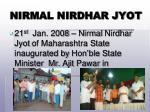 nirmal nirdhar jyot