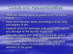 duties and responsibilities18
