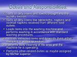 duties and responsibilities21