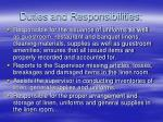 duties and responsibilities9