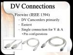 dv connections