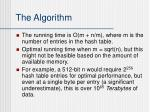 the algorithm12