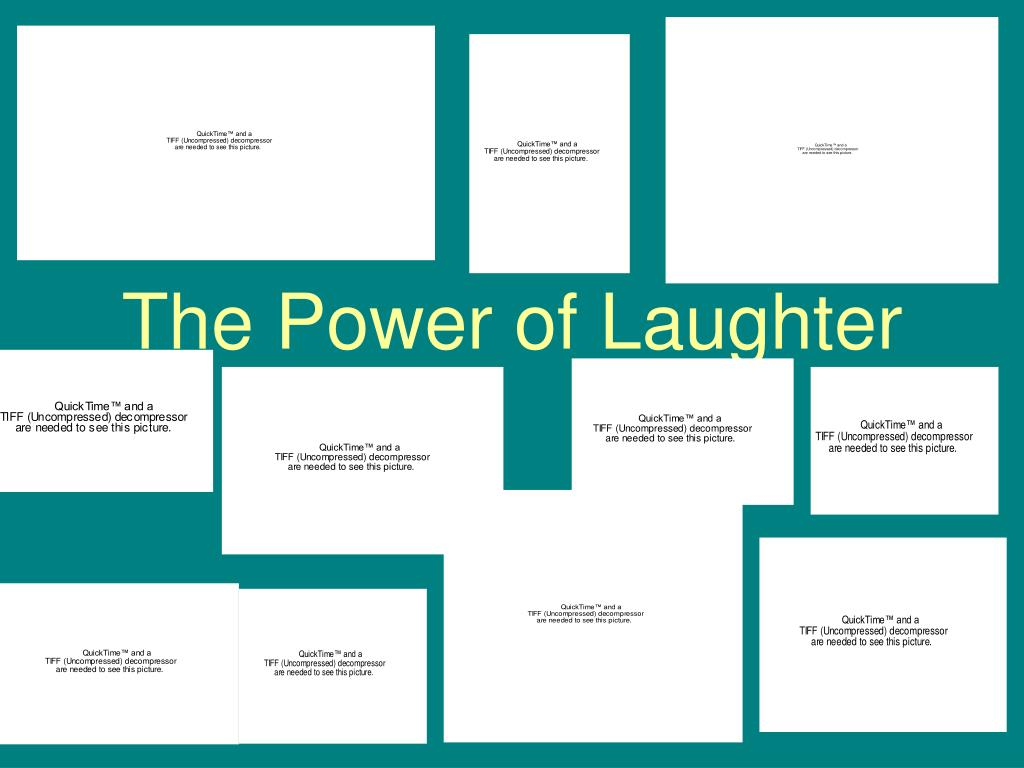 the power of laughter l.