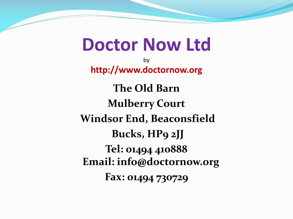 doctor now ltd by http www doctornow org l.