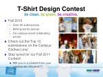t shirt design contest