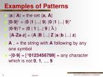 examples of patterns