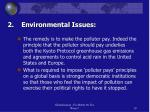2 environmental issues
