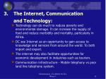 3 the internet communication and technology