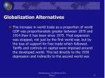globalization alternatives