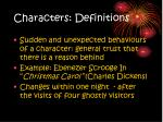 characters definitions3
