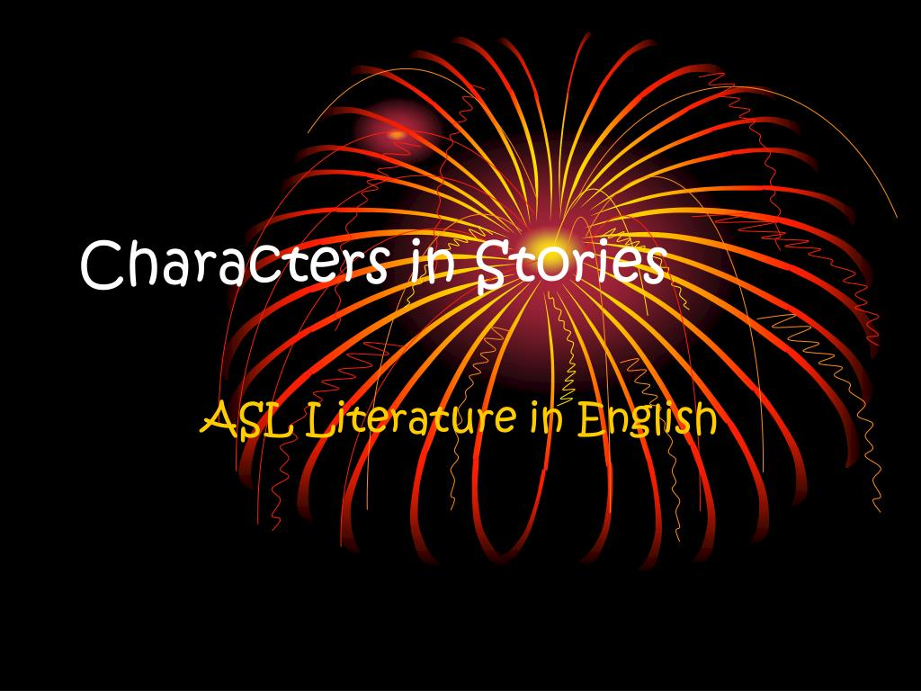characters in stories l.