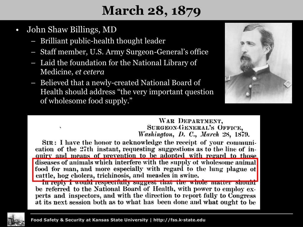 John Shaw Billings, MD