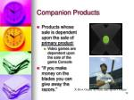 companion products12