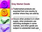 gray market goods