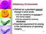 inflationary environment25