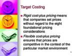 target costing16