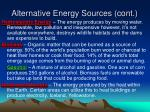 alternative energy sources cont7