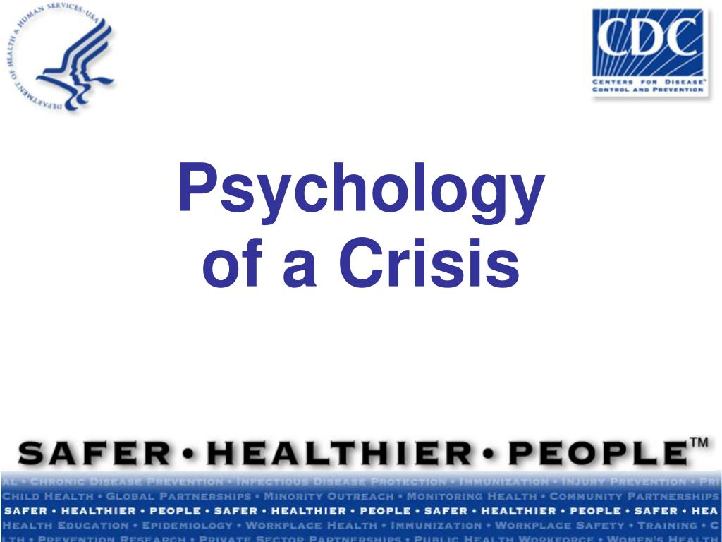 psychology of a crisis l.