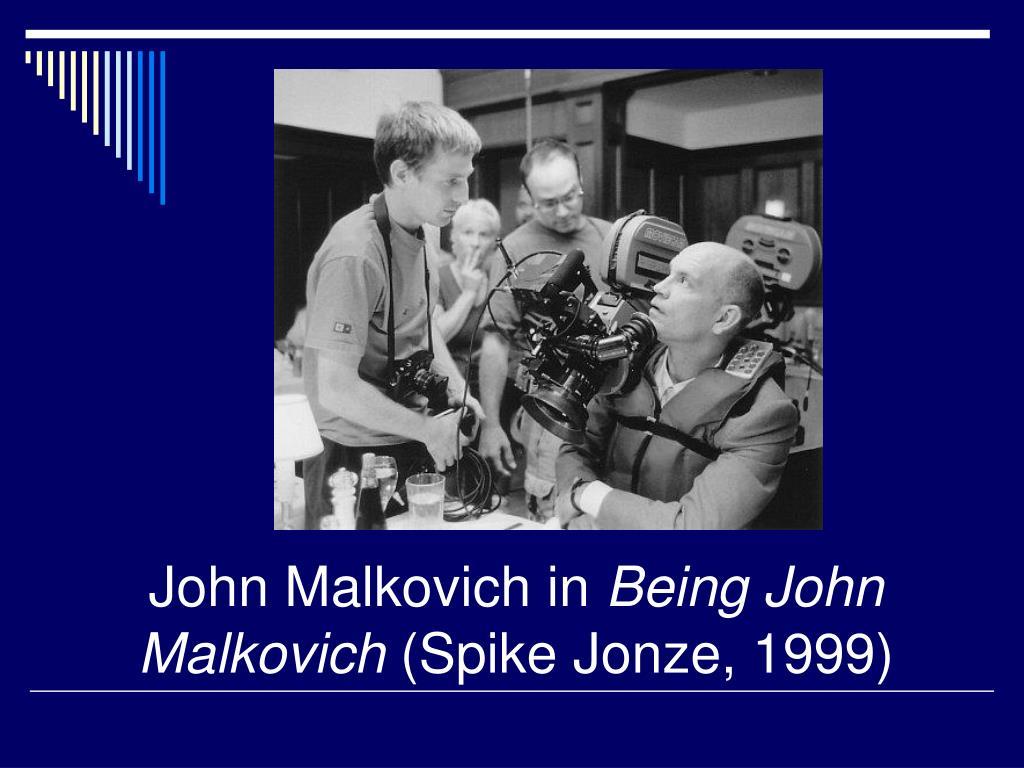John Malkovich in